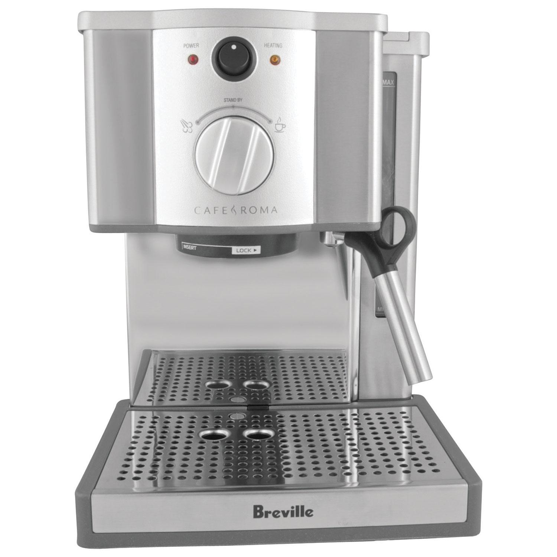 breville caf roma pump espresso machine espresso machines best buy canada - Coffee And Espresso Maker