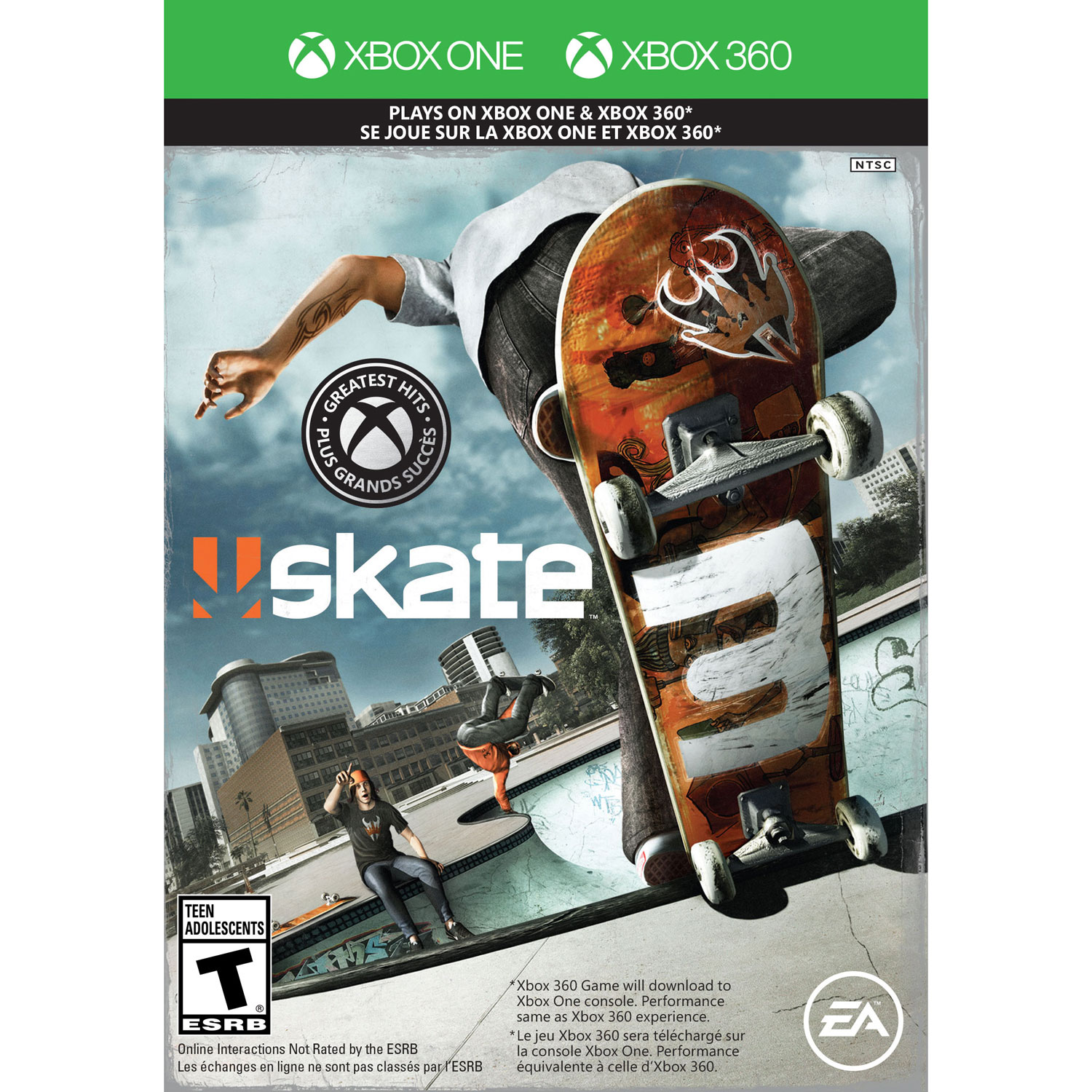 Skate 3 xbox one update with free download code – product reviews net.