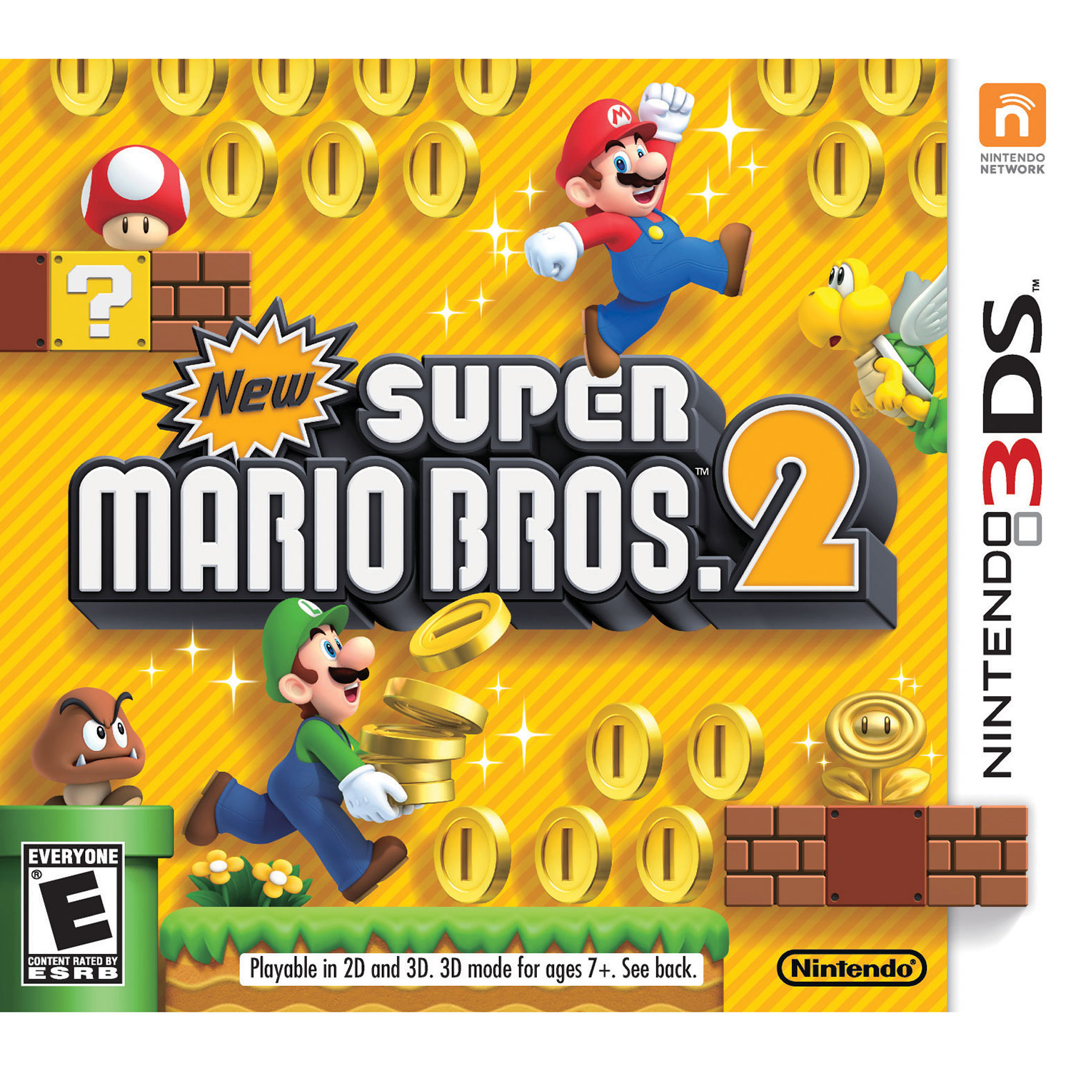 New Super Mario Bros 2 (3DS) : Nintendo 3DS, 3DS XL & 2DS Games ...