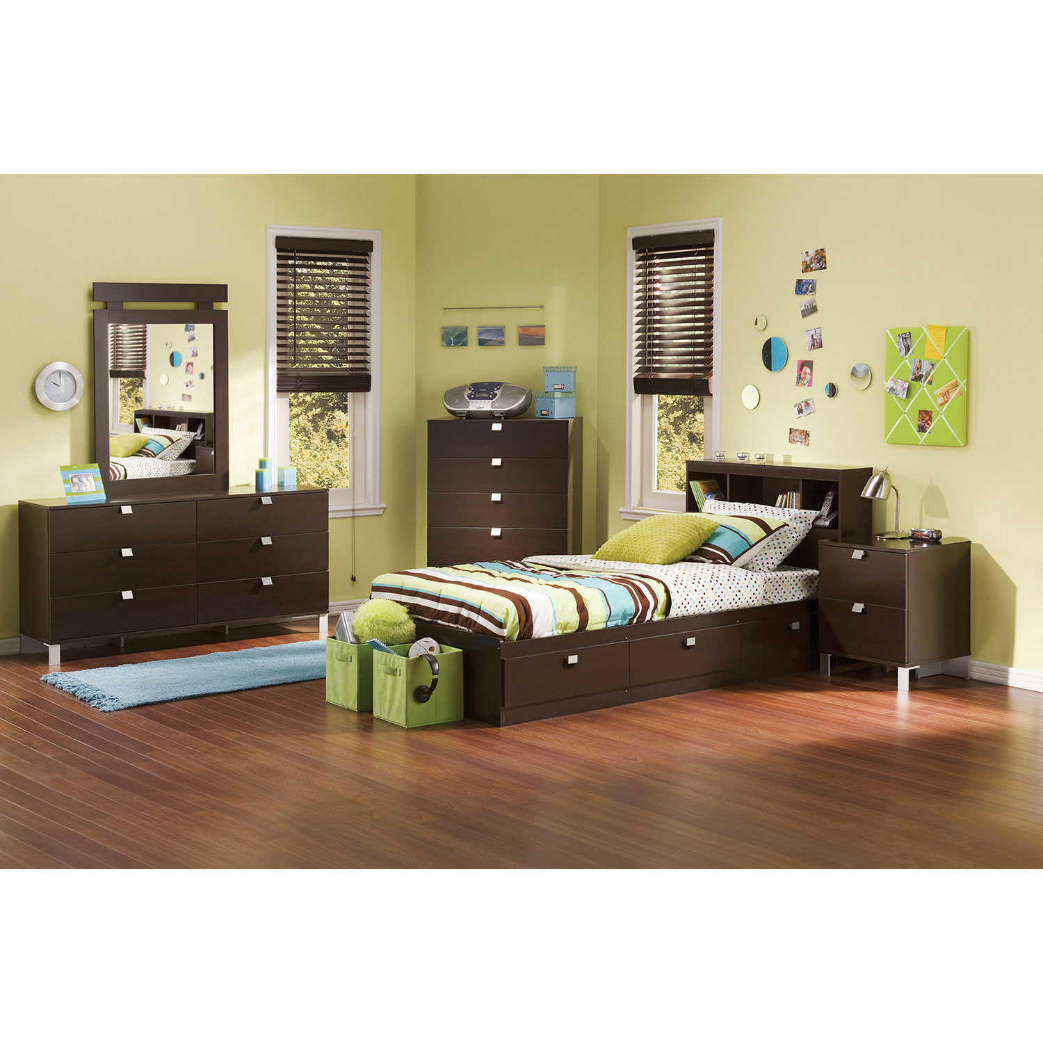 Cakao Contemporary Kids Bed