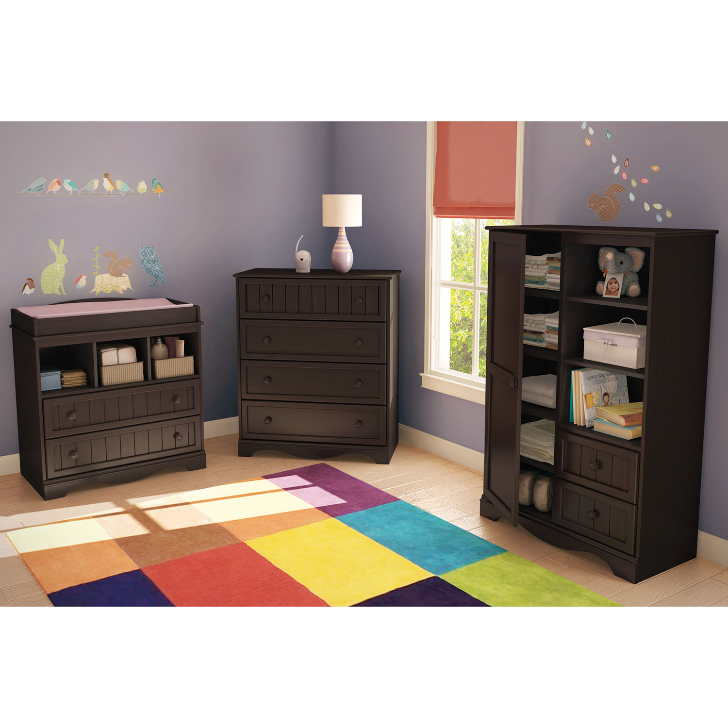 South Shore Savannah Changing Table   Espresso : Change Tables   Best Buy  Canada