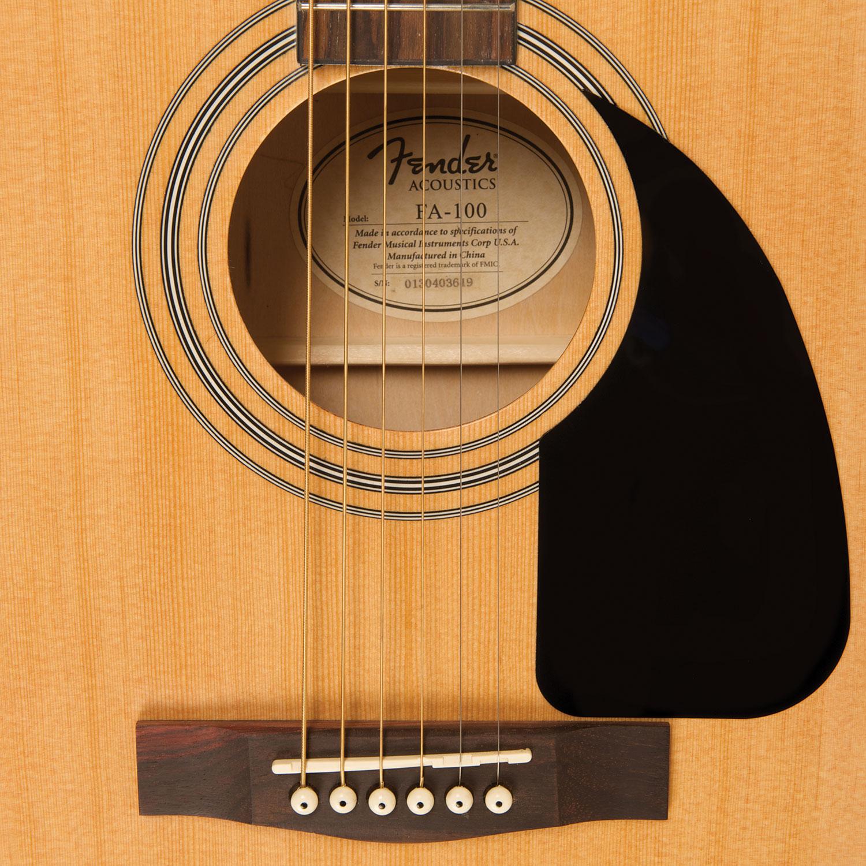fender acoustic guitar pack fa 100 natural acoustic guitars