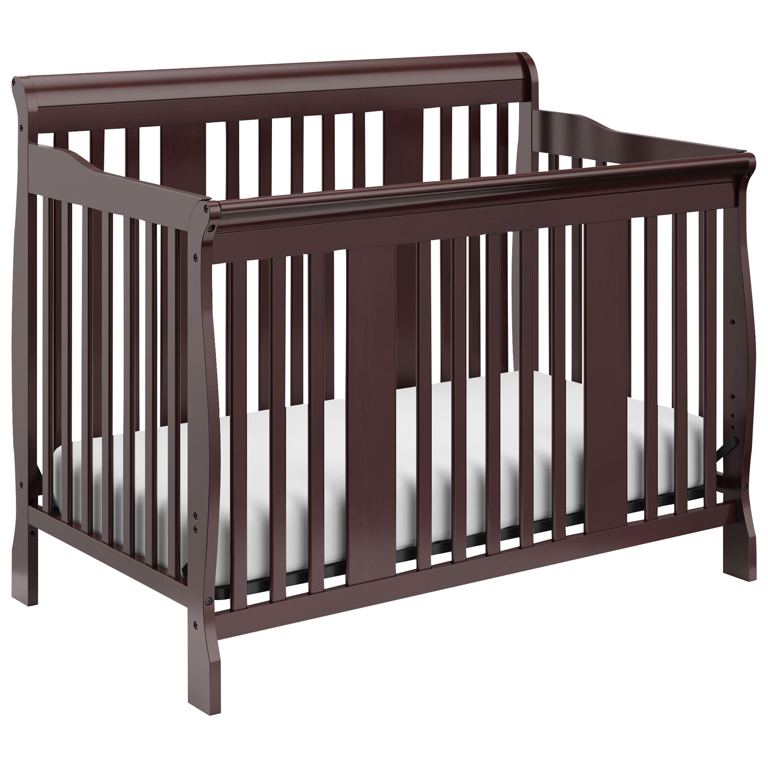 Storkcraft Tuscany 4 In 1 Convertible Crib Espresso Baby Cribs