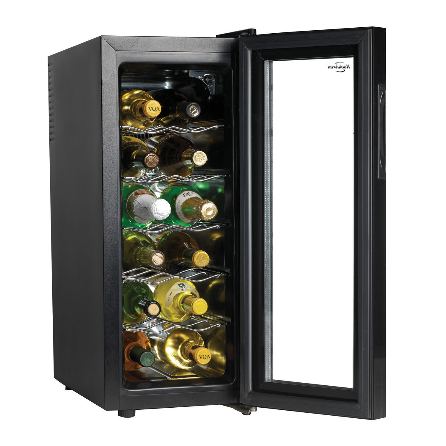 Superb 12 Bottle Wine Fridge Part - 12: Koolatron 12-Bottle Freestanding Wine Cellar (WC12) : Wine Coolers - Best  Buy Canada