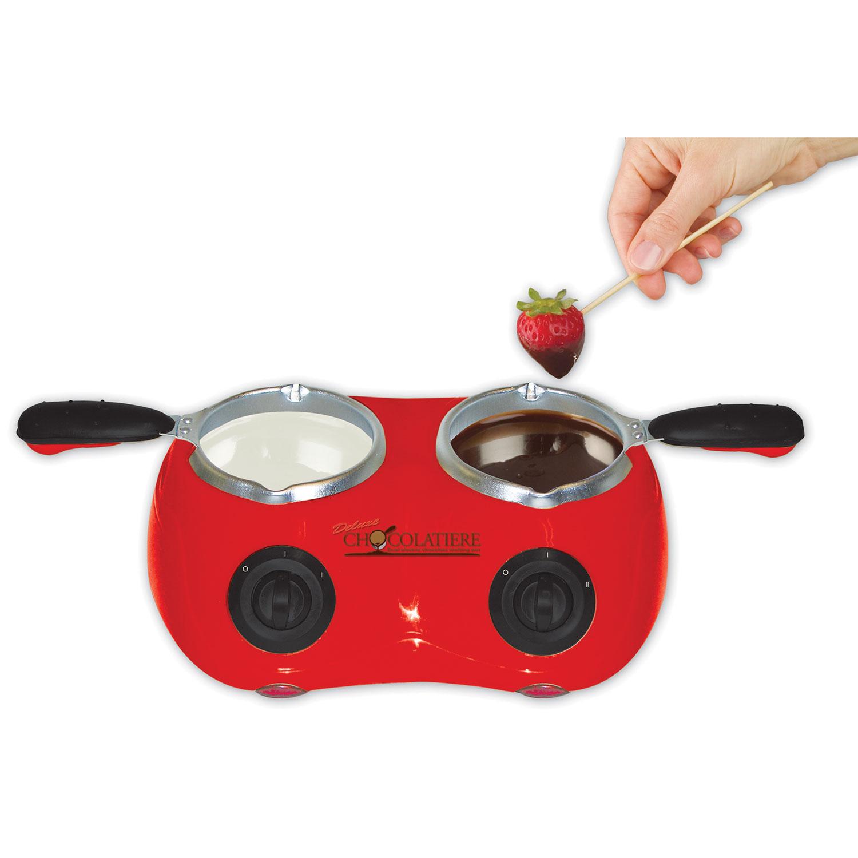 Total Chef Double Chocolatiere (CM20) - Red : Fondues - Best Buy ...