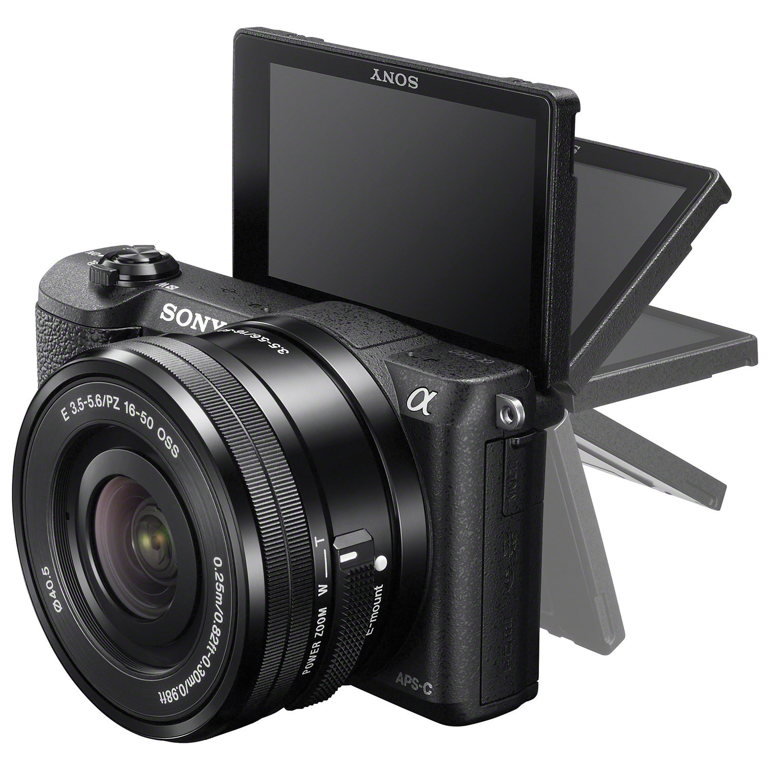 Sony a5100 Mirrorless Camera with E PZ 16-50mm OSS Lens Kit ...