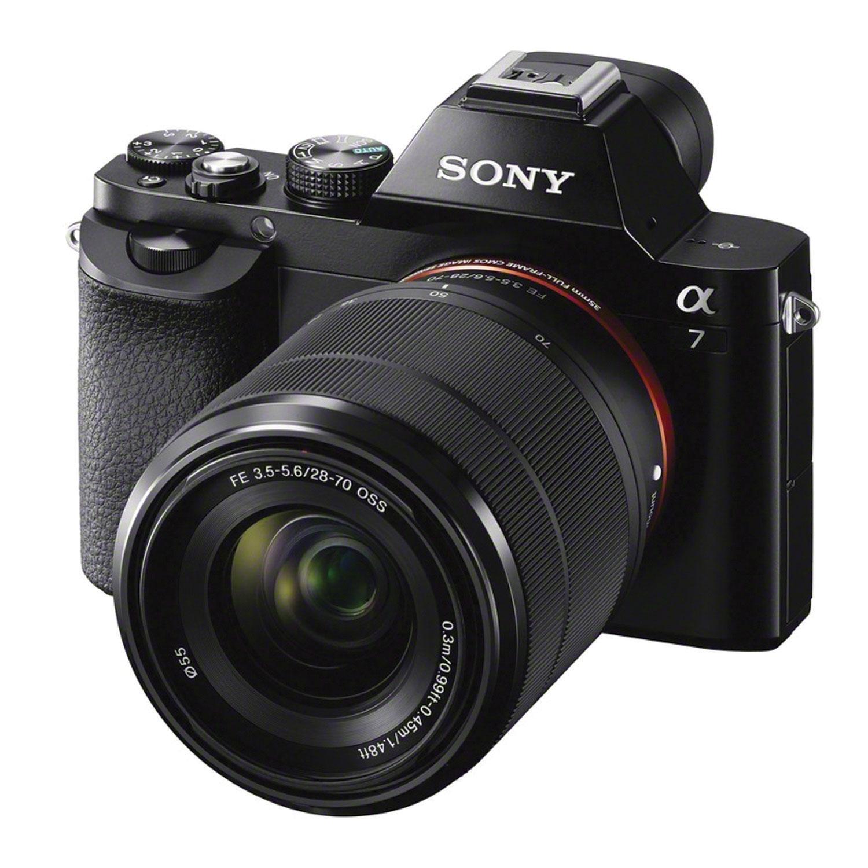 sony camera alpha. Sony Alpha 7 Mirrorless Camera With 28-70mm Lens Kit : Kits - Best Buy Canada T