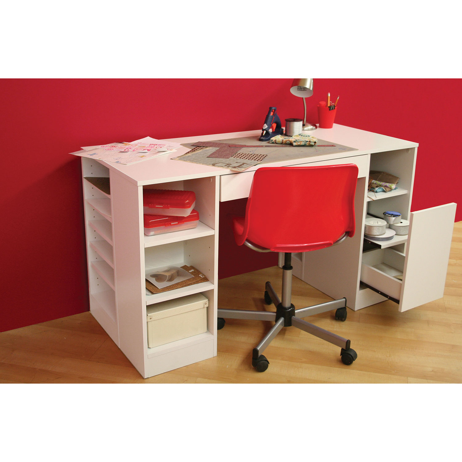 Wonderful Crea Contemporary Writing Desk   Pure White : Desks U0026 Workstations   Best  Buy Canada
