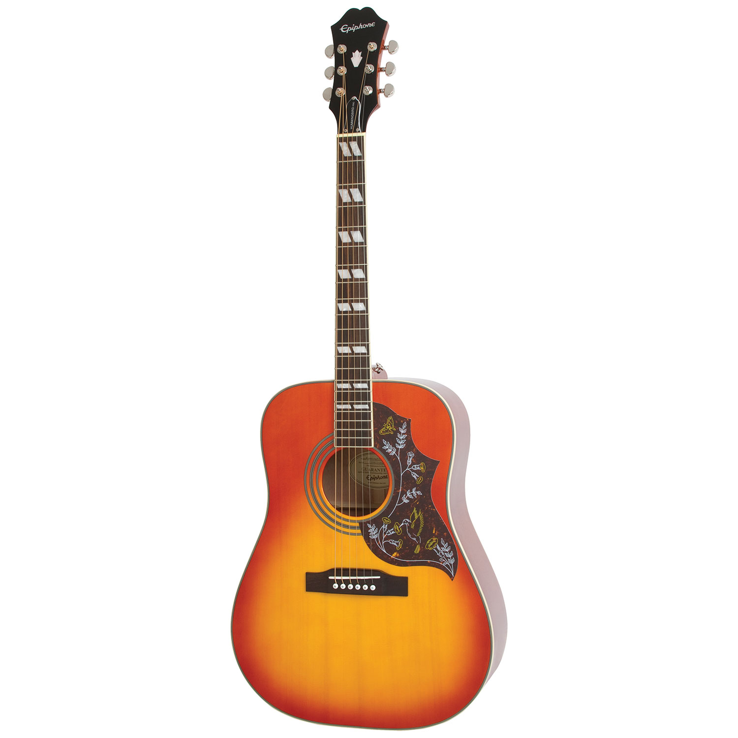 epiphone hummingbird pro accoustic electric guitar heritage