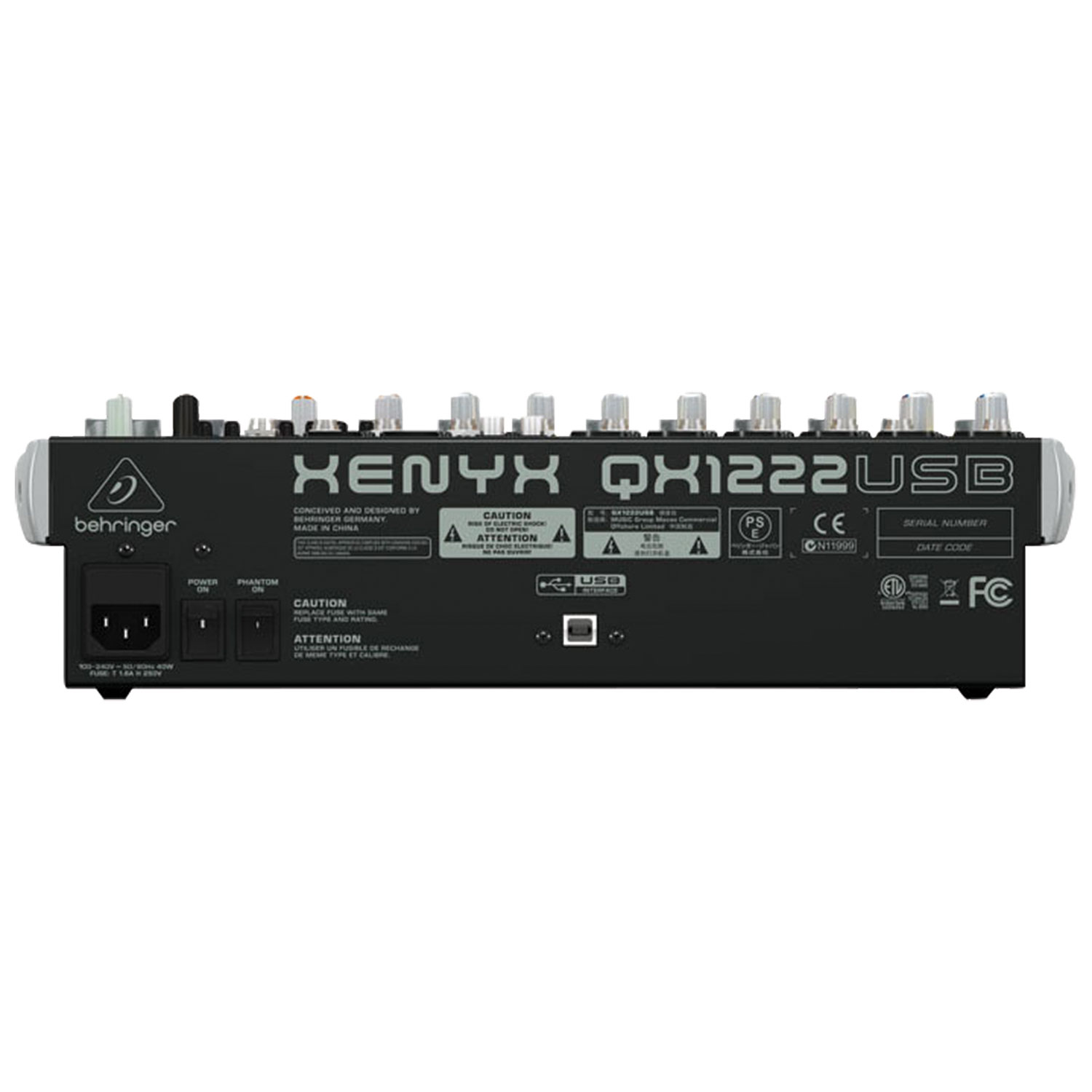 Behringer Xenyx 16 Channel Usb Mixer Qx1222usb Dj Mixers Cd Electro Help 32 Inch Philips Lcd Tv Power Supply Smps Schematic Turntables Best Buy Canada