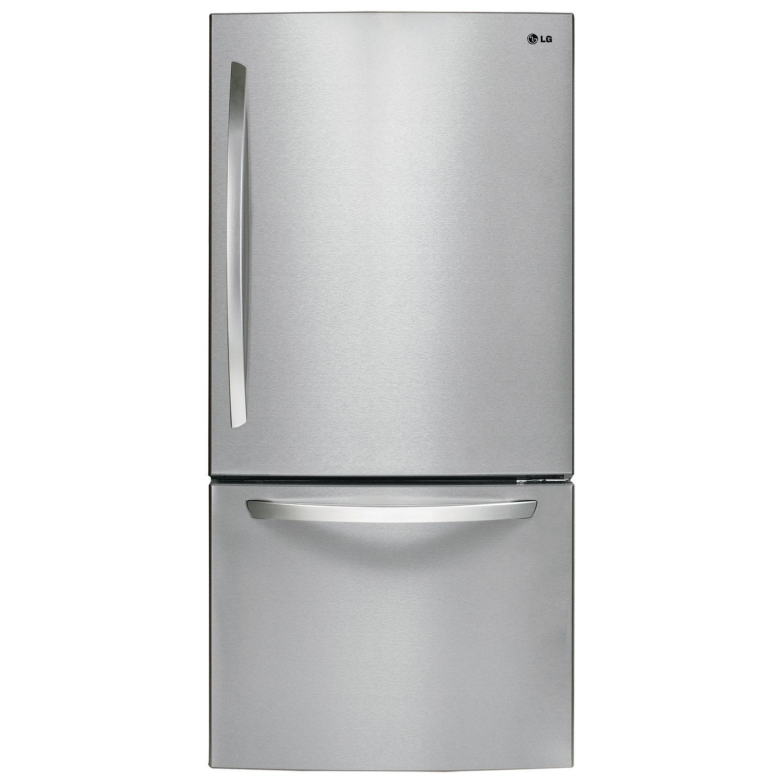 kenmore bottom freezer refrigerator. ft. bottom mount refrigerator (ldc24370st) - stainless steel : freezer refrigerators best buy canada kenmore c