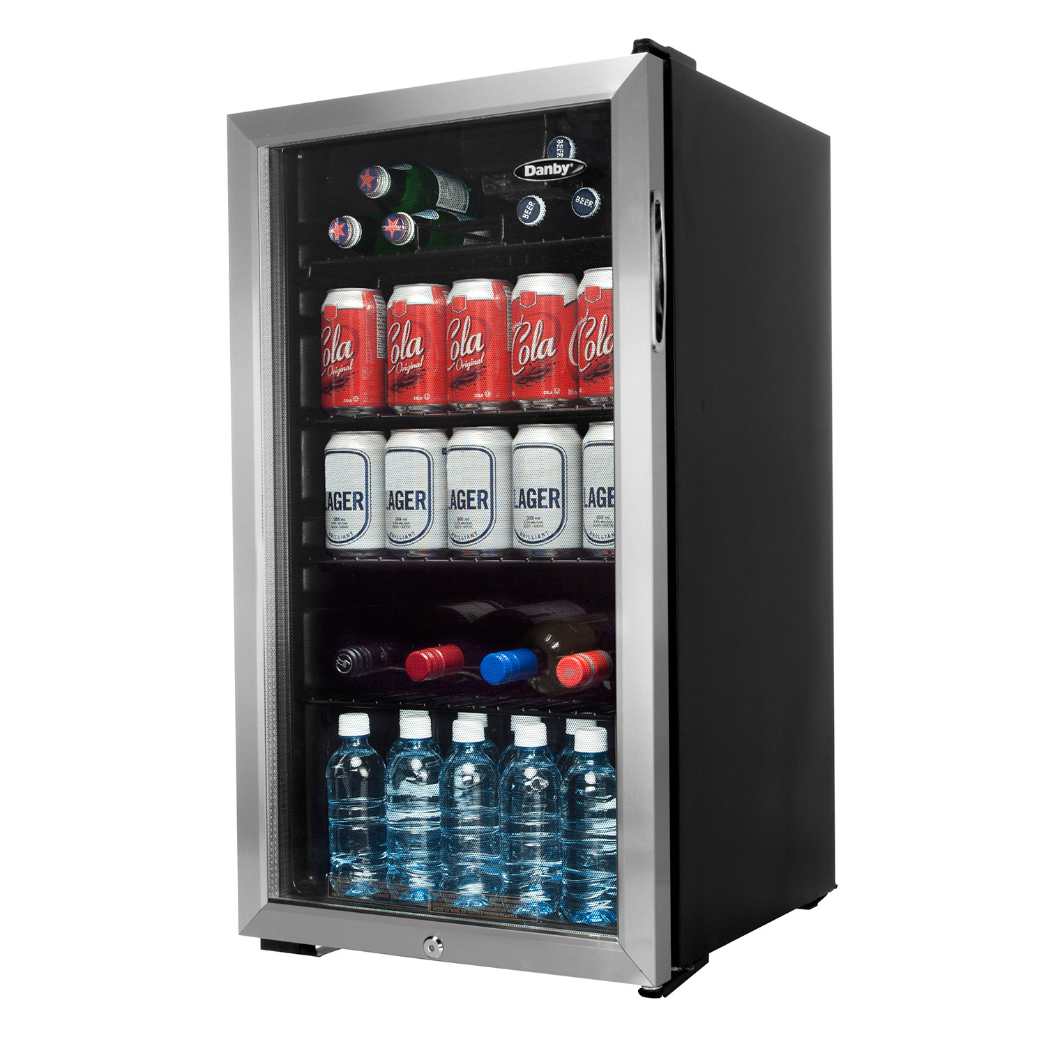 Danby 33 Cuft Bar Fridge Dbc120bls Black Mini Fridges