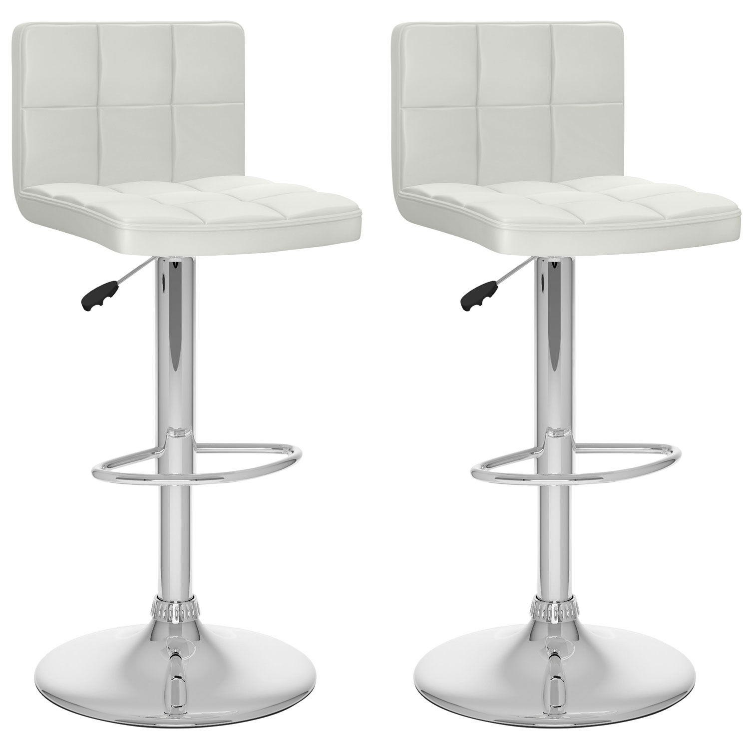 contemporary adjustable height bar stool  set of   white  bar  - contemporary adjustable height bar stool  set of   white  bar stools best buy canada