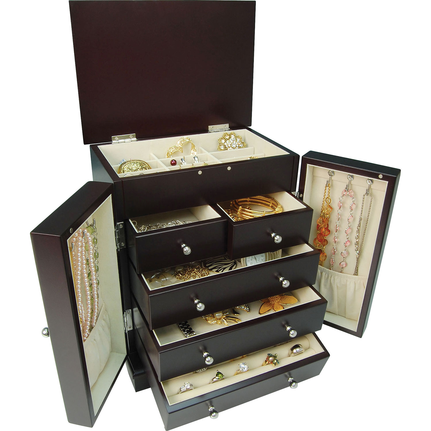 Gunther Mele Natasha Jewelry Box Java Jewelry Boxes Best Buy
