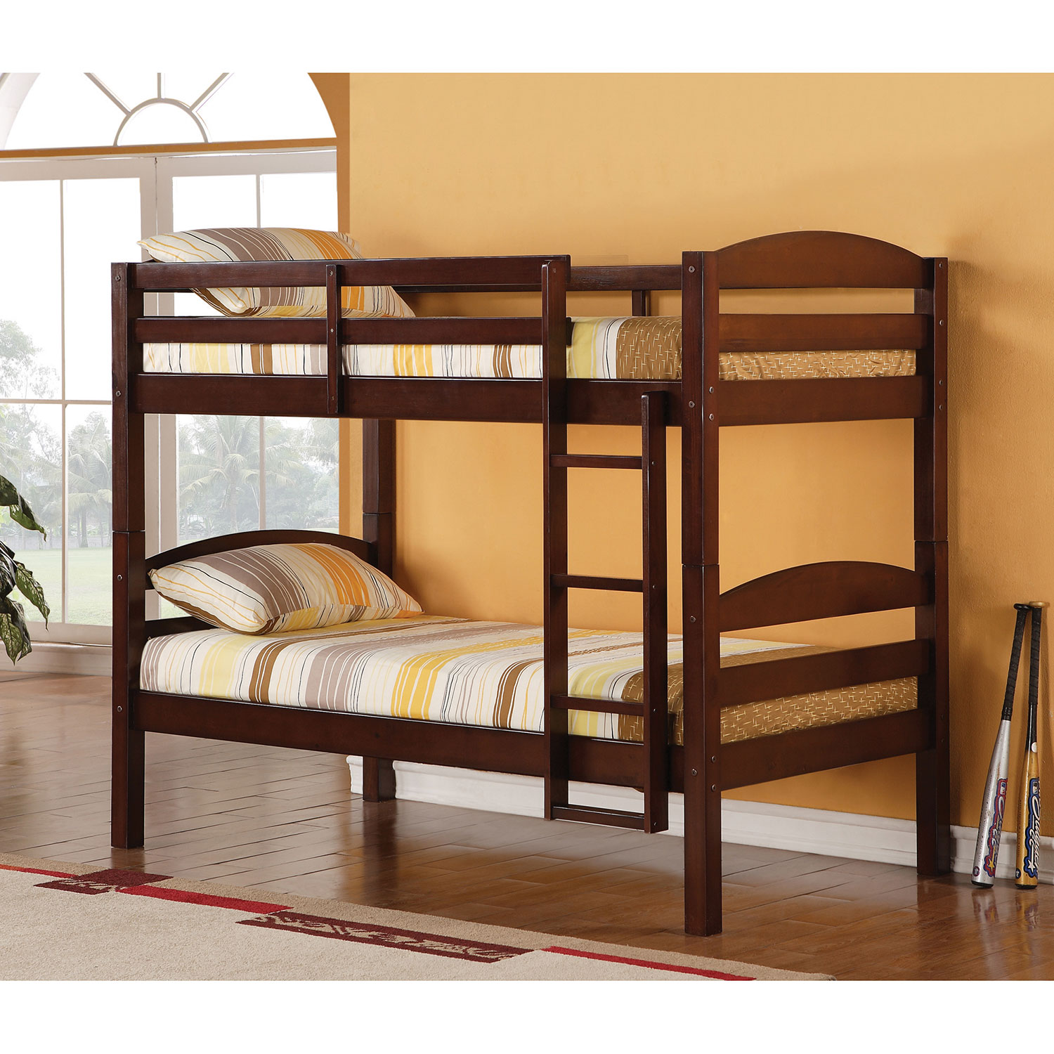 Traditional Bunk Bed Single Espresso Kids Beds Best Buy Canada