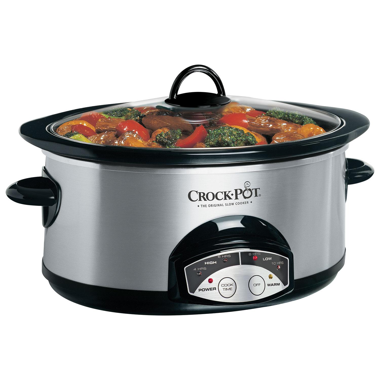 Crockpot Programmable Slow Cooker  6qt : Slow Cookers  Best Buy Canada