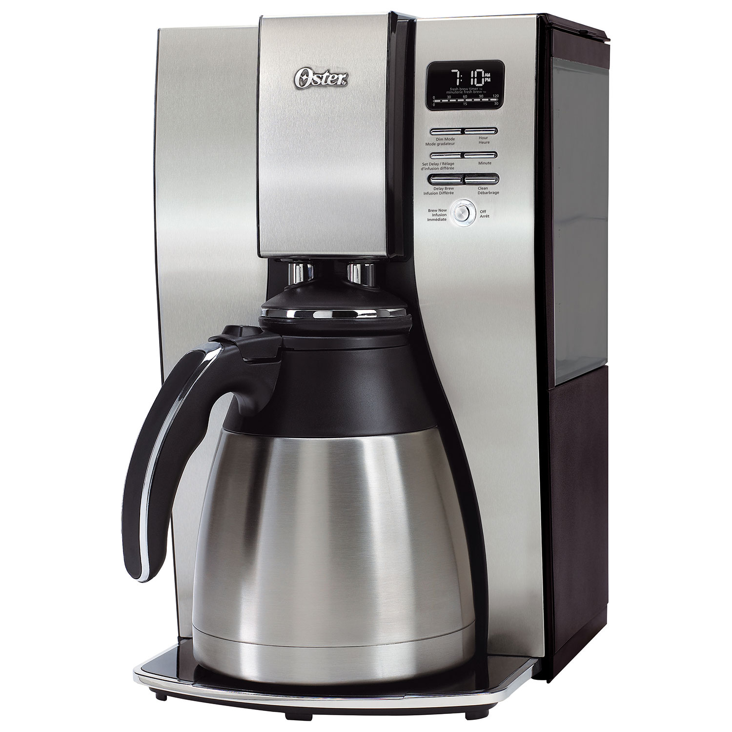 Oster Thermal 10 Cup Coffee Maker Bvstpstx95 033 Stainless Steel