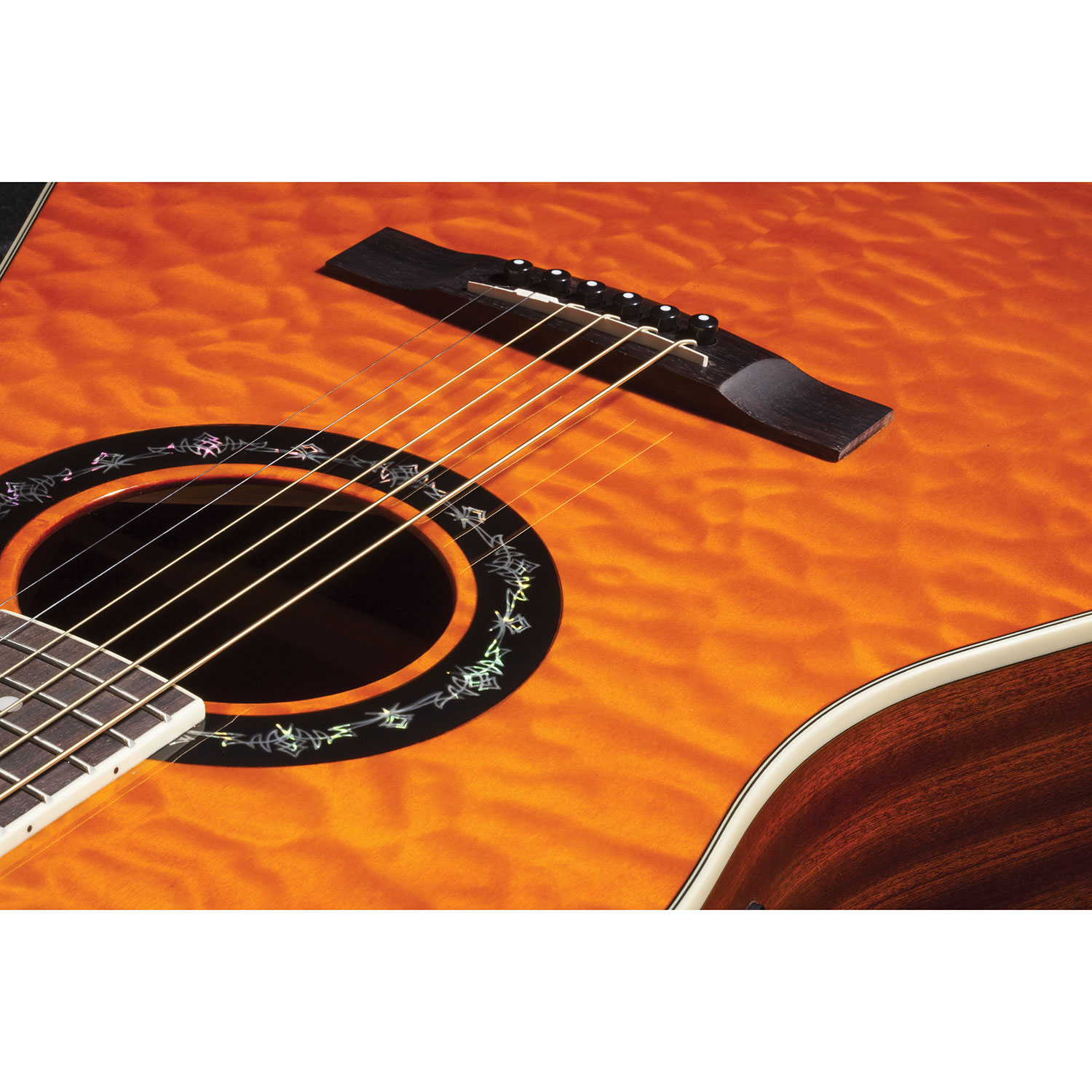 fender t bucket acoustic electric guitar 300ce maple