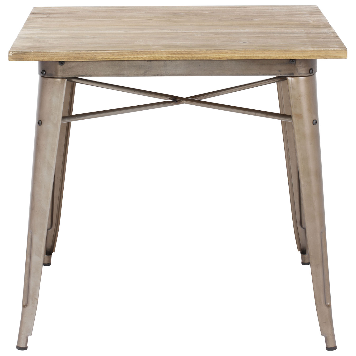 Aaron Transitional Square Dining Table