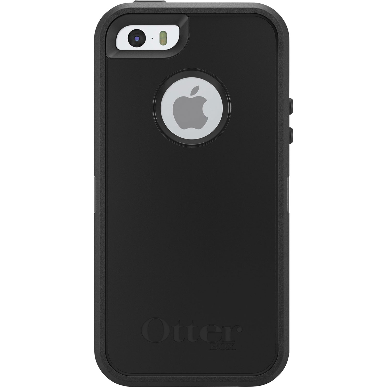 OtterBox Defender iPhone 5/5s/SE Hard Shell Case - Black : iPhone ...