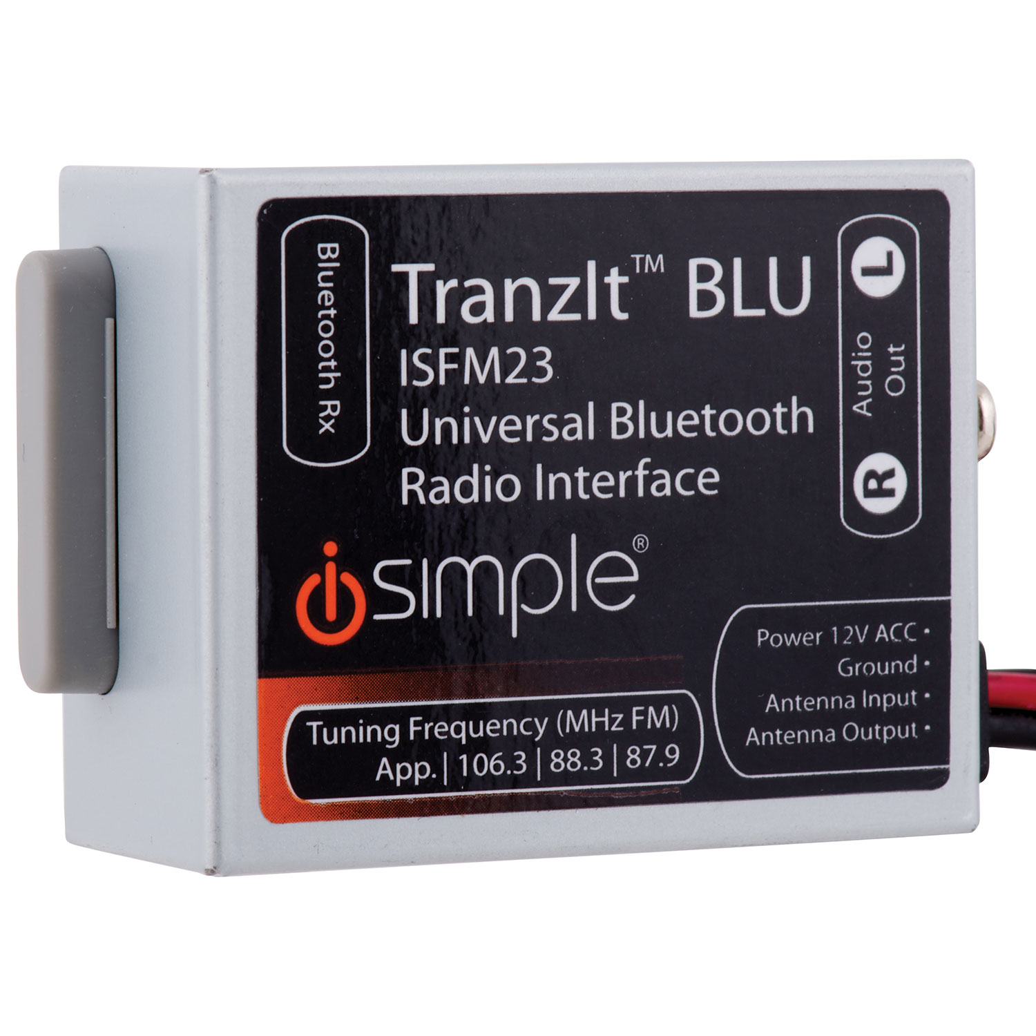 iSimple TranzItBLU Bluetooth Transmitter (ISFM23C) : OEM Integration - Best  Buy Canada