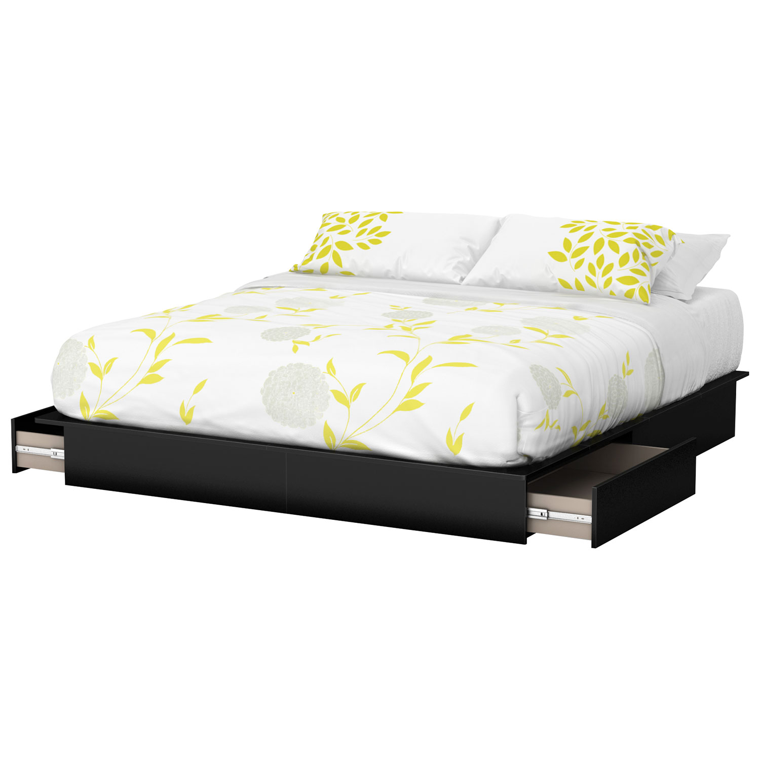 south shore step one contemporary king platform bed (box  of   - south shore step one contemporary king platform bed (box  of )  pureblack  not sold separately  oem  english  best buy canada