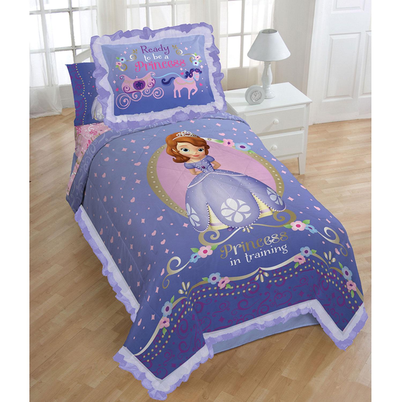 Ensemble couette et couvre-oreiller Princess Sofia de Disney - Lit ...