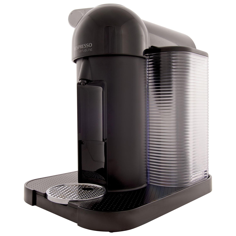 nespresso vertuoline coffee system gca1usbkne black espresso machines best buy canada - Vertuoline
