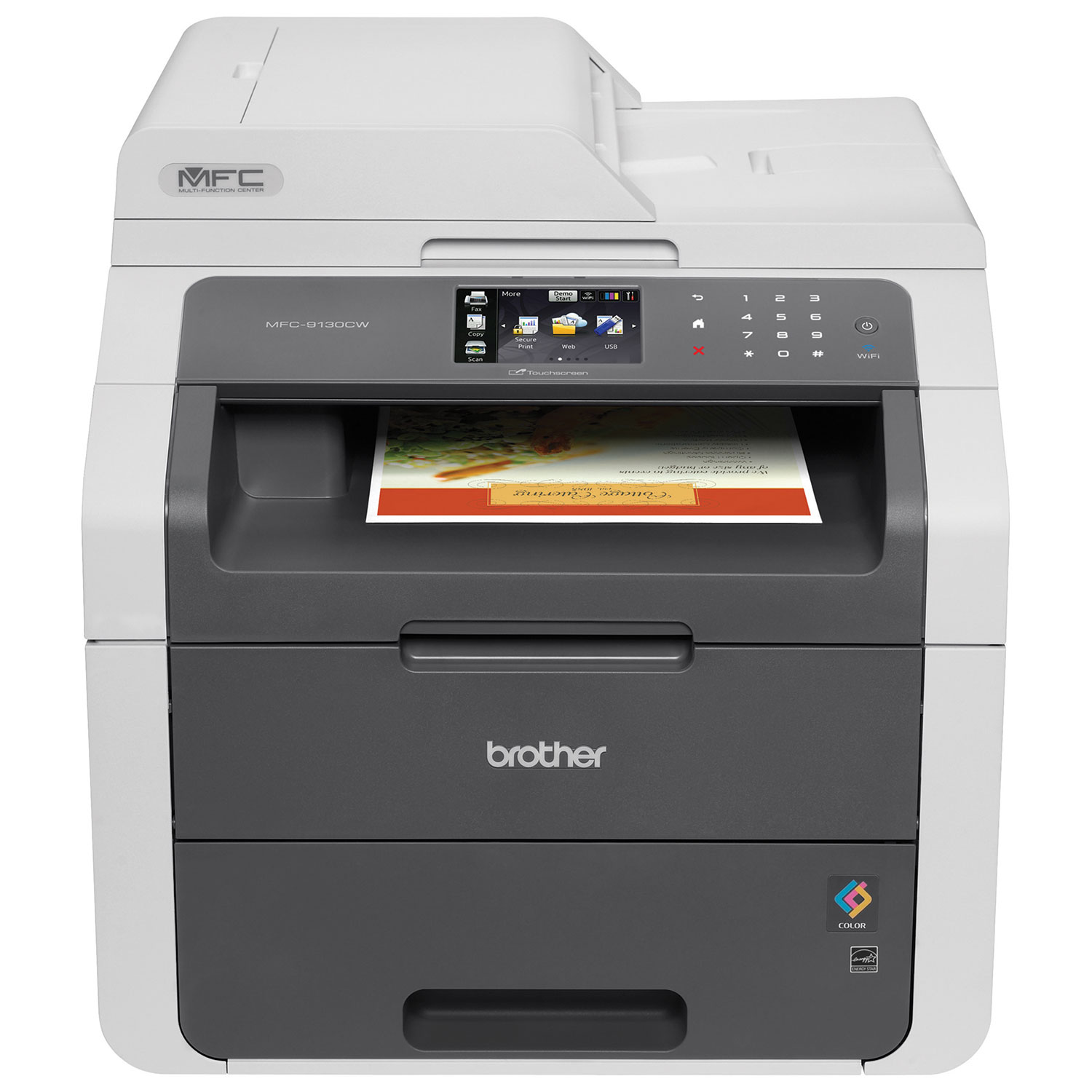 Color printers laser - Brother Colour Wireless All In One Laser Printer Mfc9130cw Laser Printers Best Buy Canada