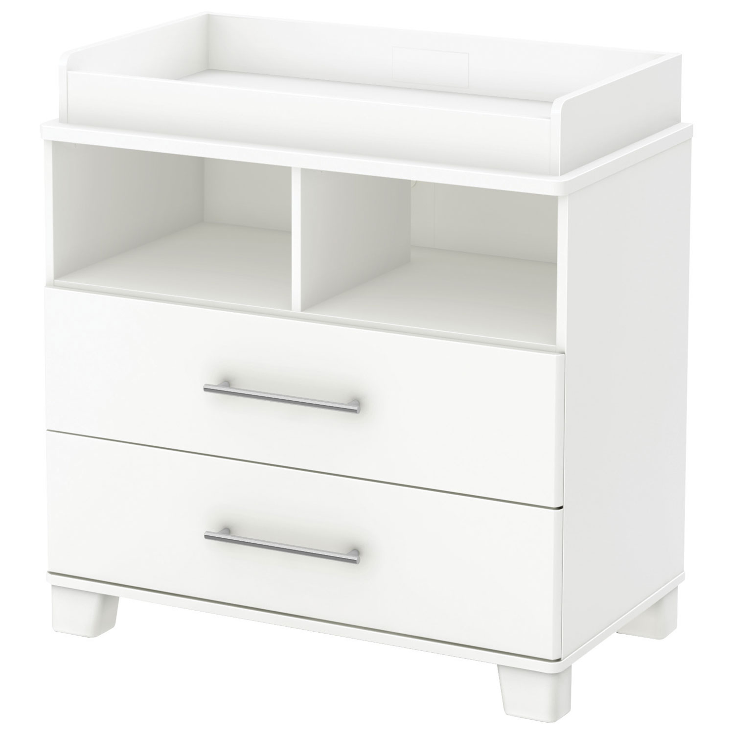 Charmant South Shore Cuddly Changing Table With Removable Changing Station   Pure  White : Change Tables   Best Buy Canada
