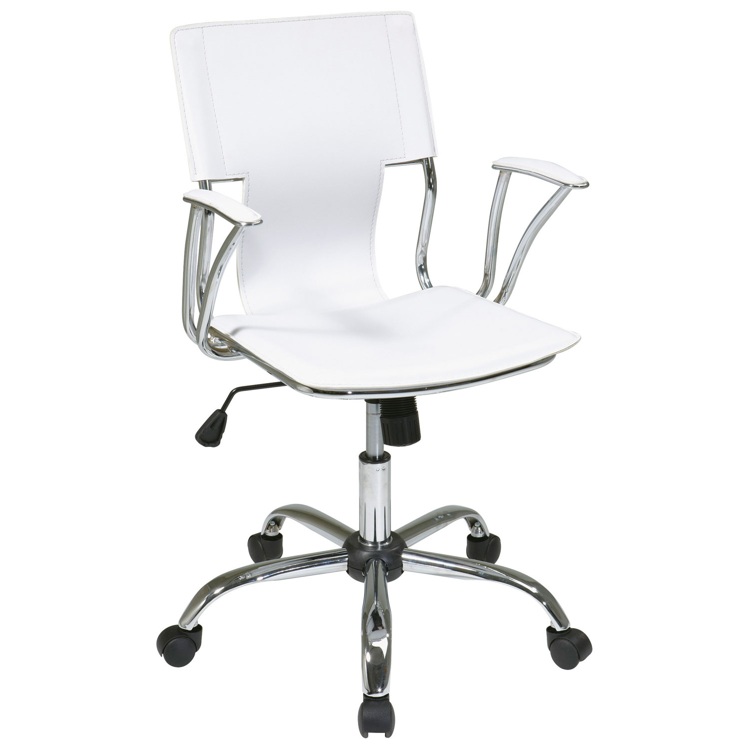 avenue six dorado vinyl office chair  white  office chairs  - avenue six dorado vinyl office chair  white  office chairs  best buycanada
