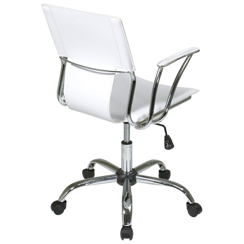 avenue six dorado vinyl office chair  white  office chairs  - avenue six dorado vinyl office chair  white  office chairs  best buycanada