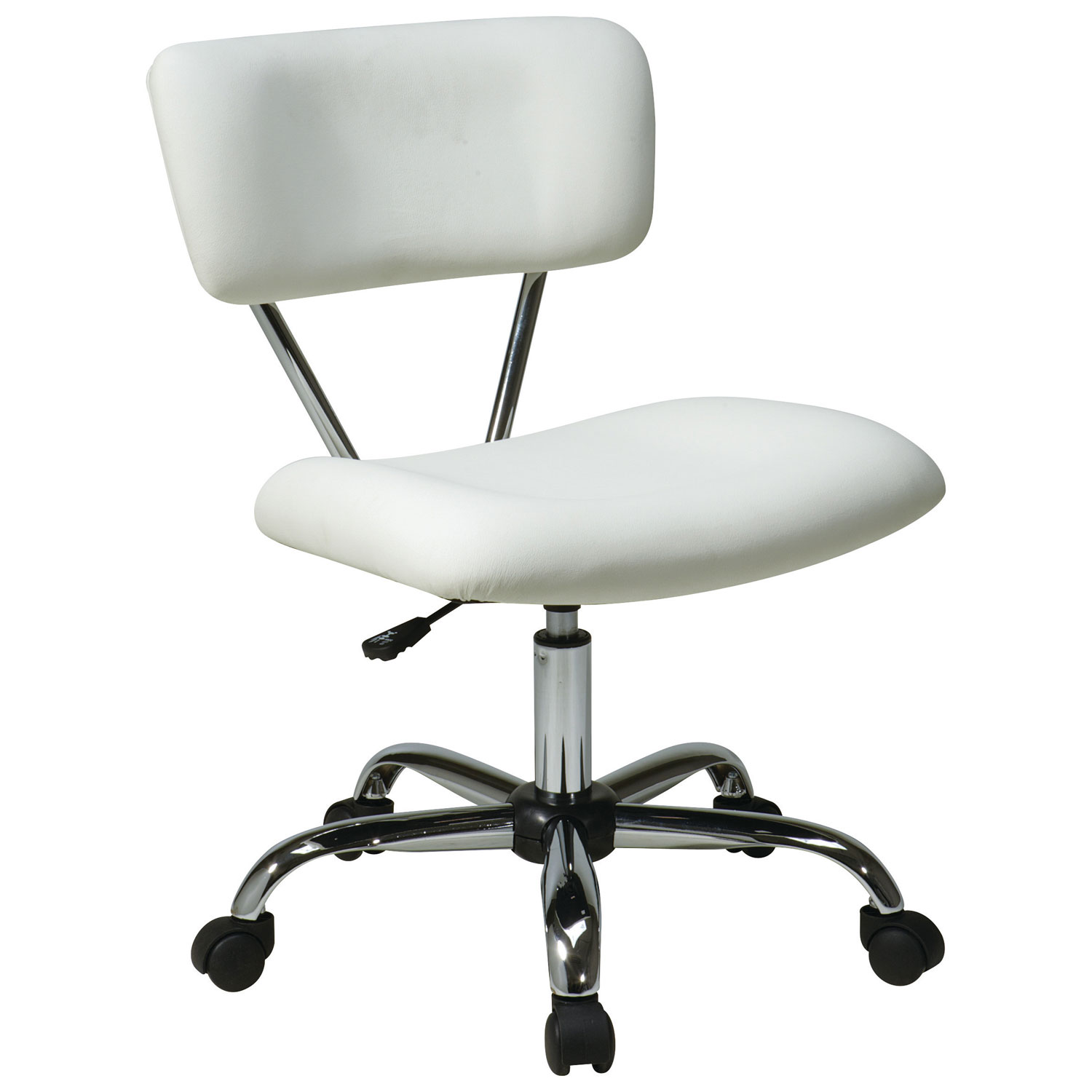 avenue six vista vinyl office chair  white  office chairs  best  - avenue six vista vinyl office chair  white  office chairs  best buycanada