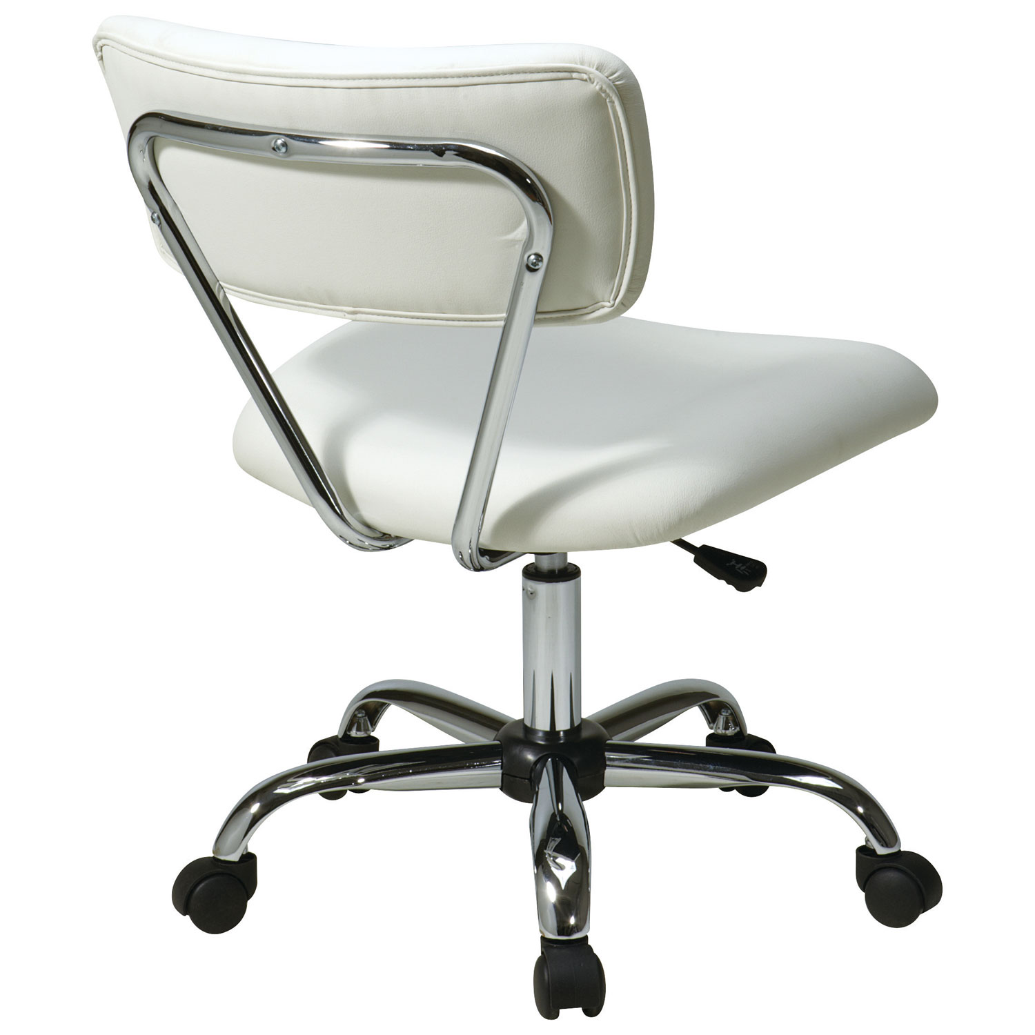 Avenue Six Vista Vinyl fice Chair White fice Chairs Best