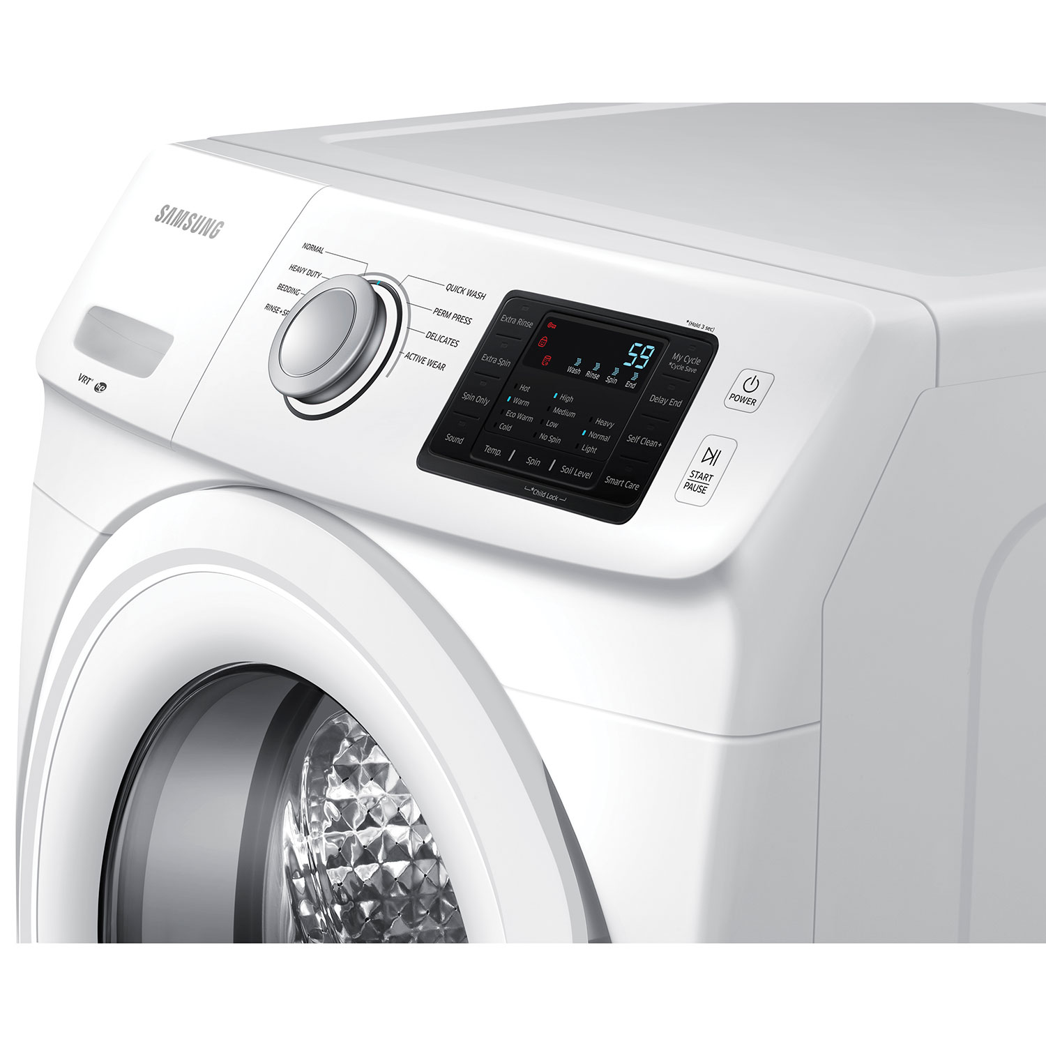 How Do High Efficiency Washers Work Samsung 48 Cu Ft High Efficiency Front Load Washer Wf42h5000aw