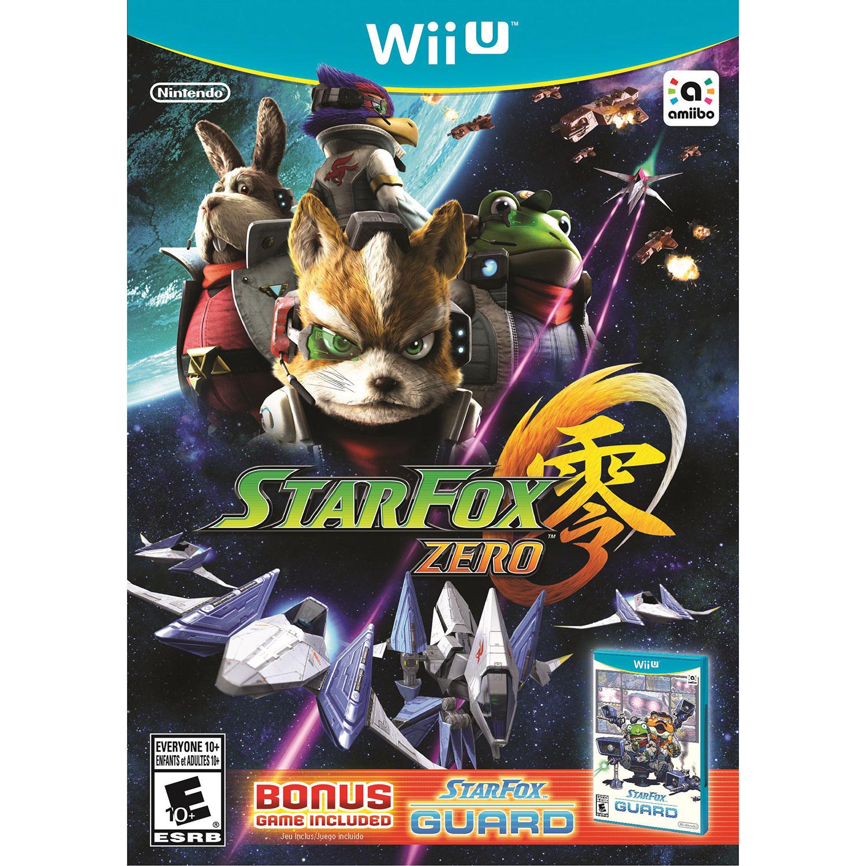 Star Fox Zero Wii U Nintendo Games