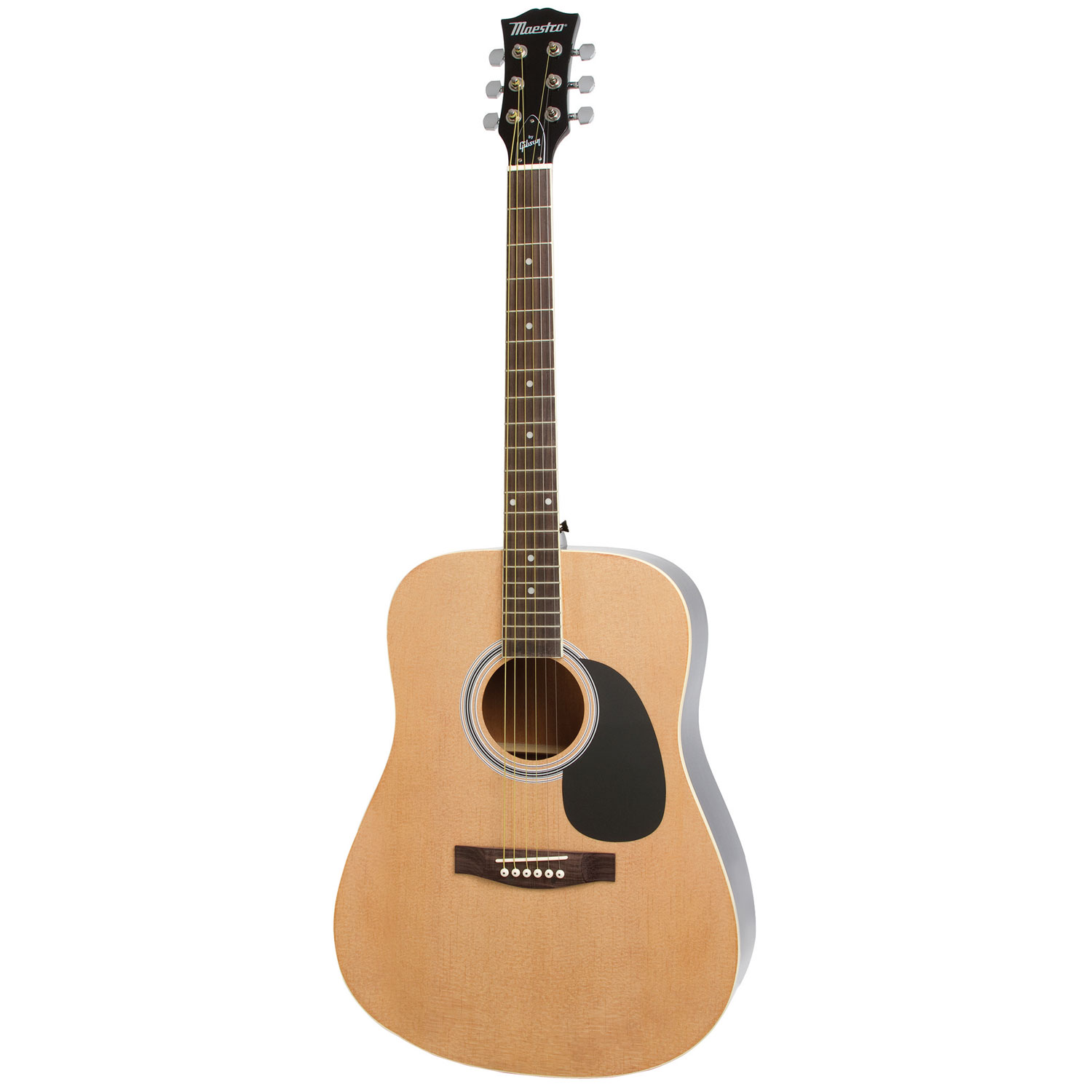 maestro by gibson 41 acoustic guitar pack natural acoustic
