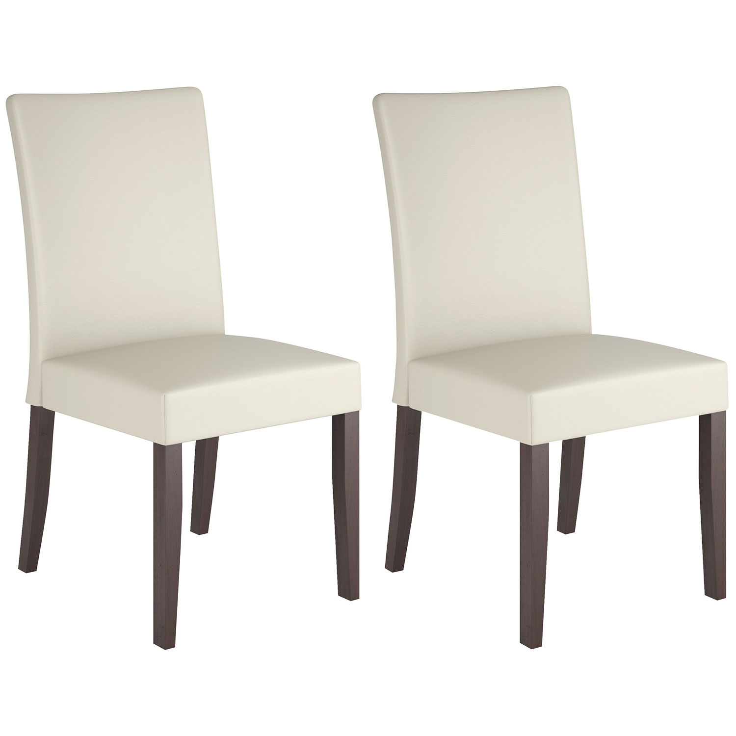 Atwood Transitional Dining Chair Set of 2 Rich Cappuccino