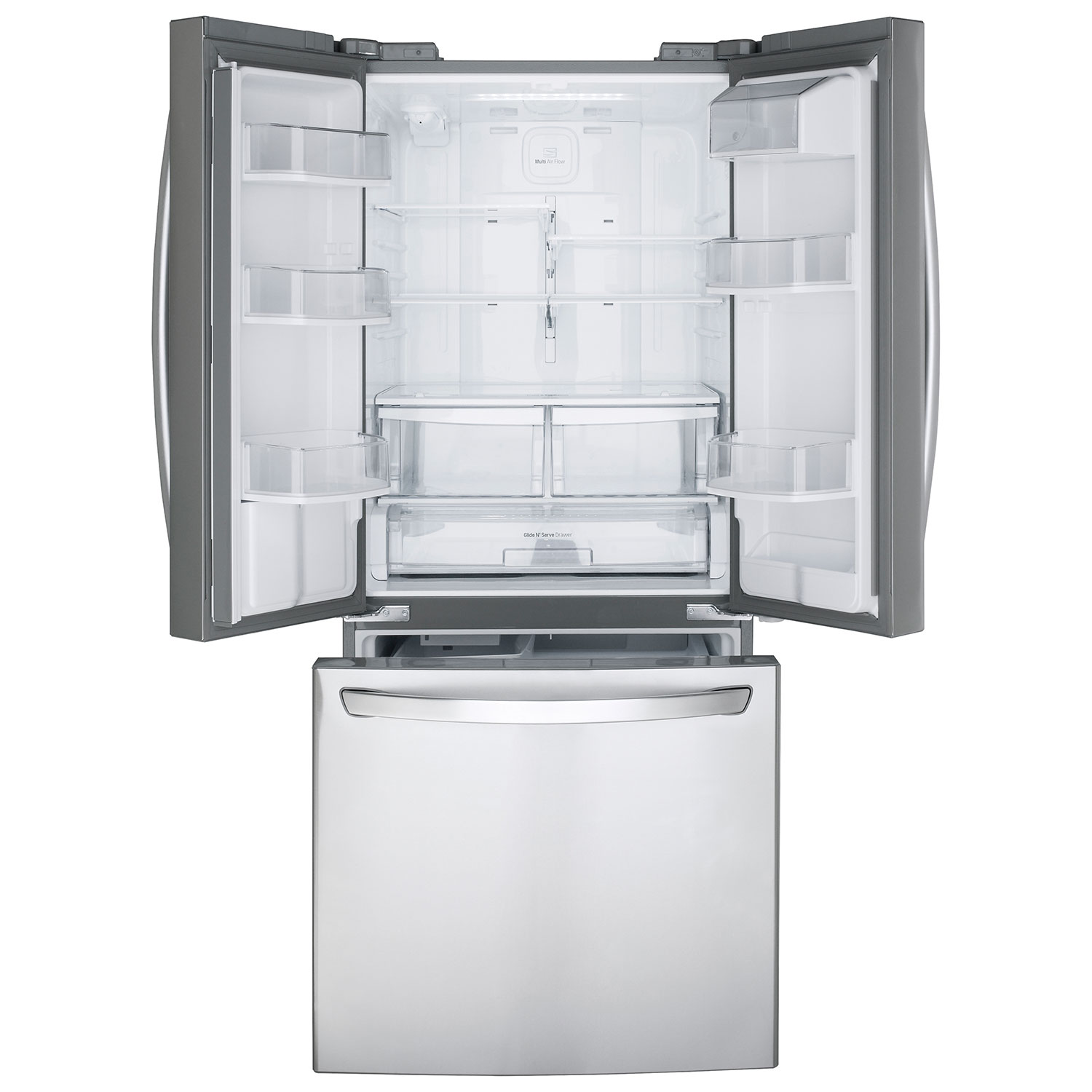 Ft. French Door Refrigerator (LFD22786ST)   Stainless Steel : French Door  Refrigerators   Best Buy Canada