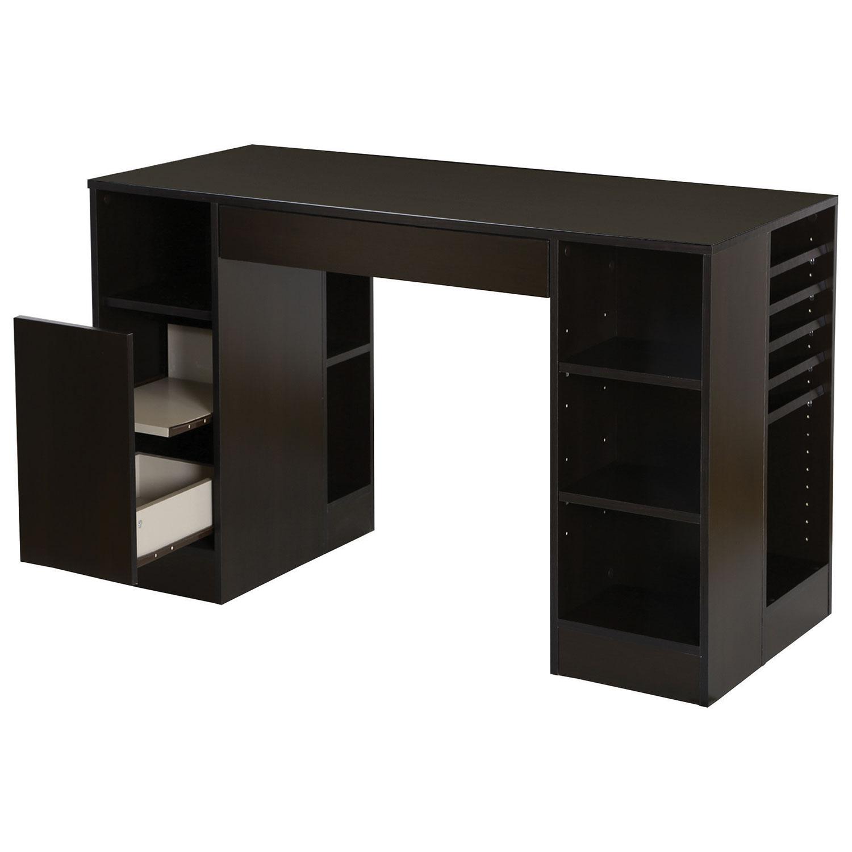 crea craft desk chocolate desks u0026 best buy canada