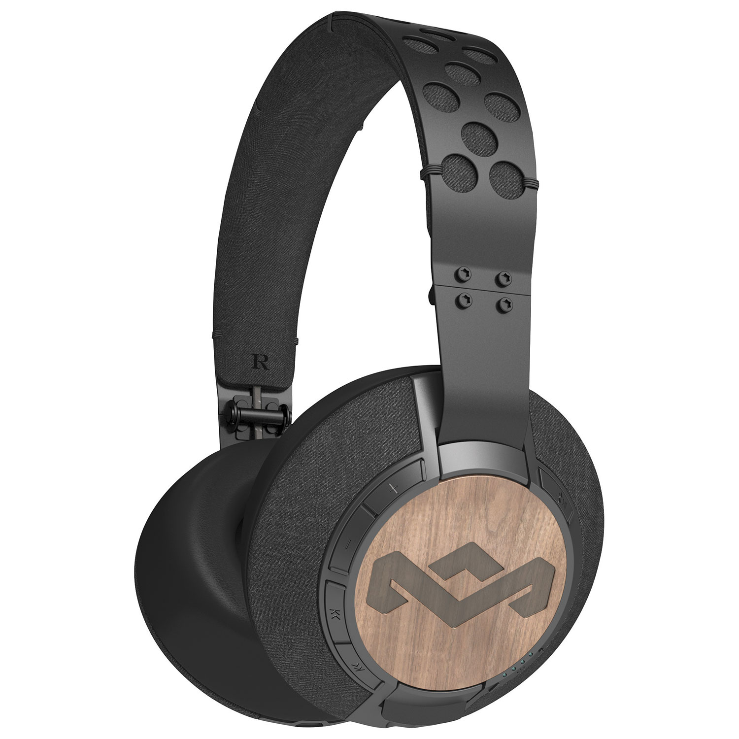 house of marley liberate xl over-ear sound isolating bluetooth