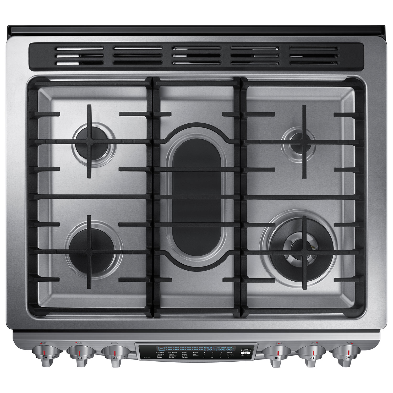 Ft True Convection 5 Burner Slide In Gas Range