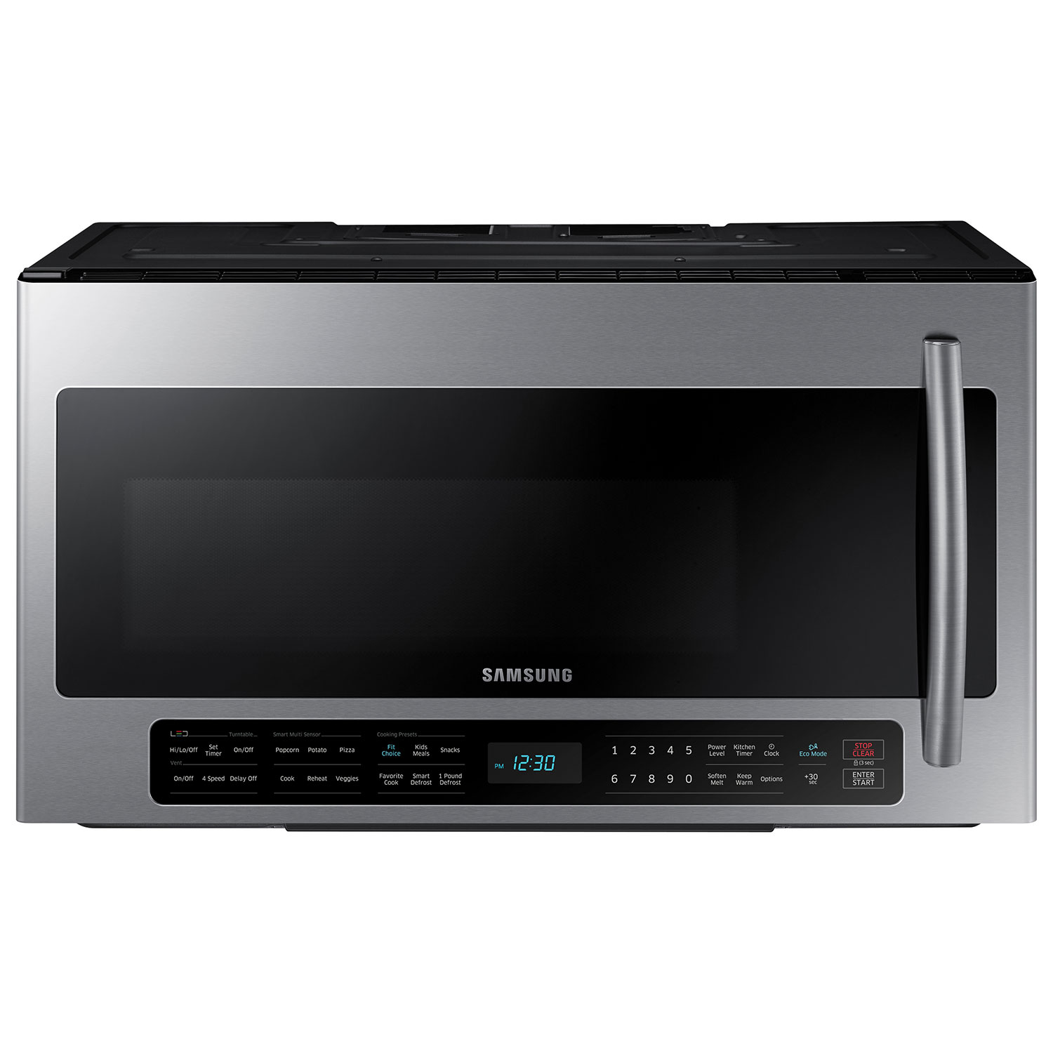 Home kitchen appliances microwaves over the range microwaves - Samsung Over The Range Microwave 2 1 Cu Ft Stainless Steel Over The Range Microwaves Best Buy Canada