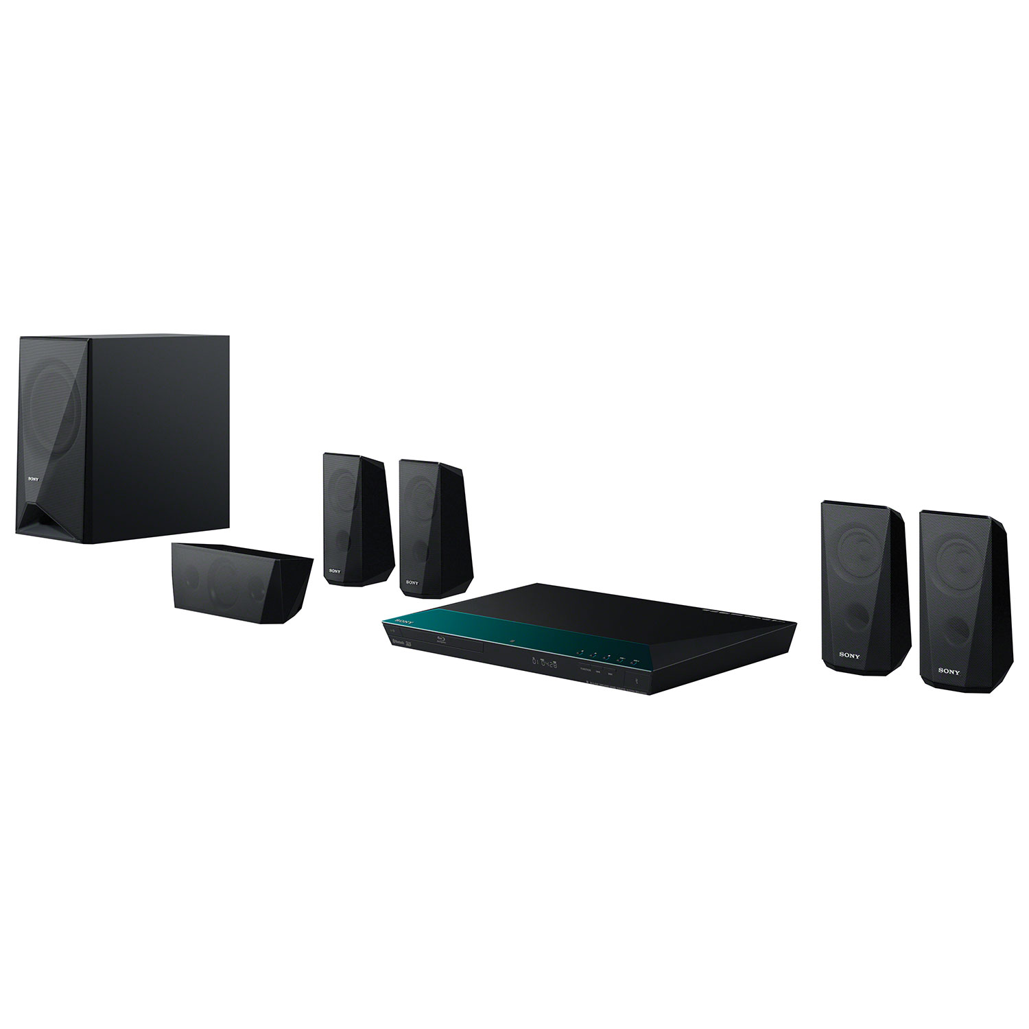 sony 5 1 channel. sony bdve3100 1000-watt 5.1 channel 3d blu-ray home theatre system 5 1
