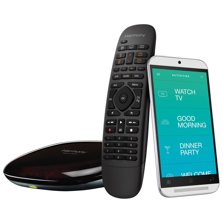 logitech harmony companion remote control black remote controls rh bestbuy ca Logitech Harmony Link Harmony Hub