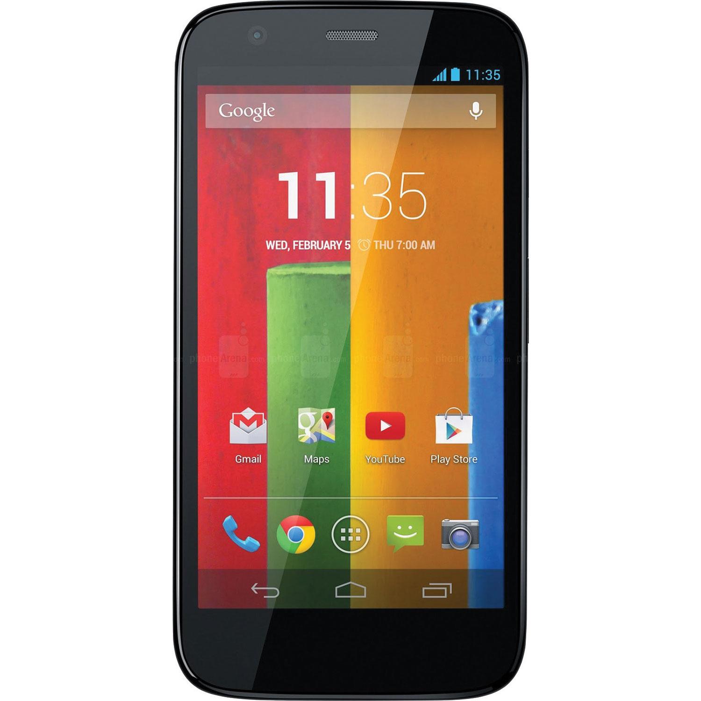 motorola. motorola moto g lte 8gb smartphone - black unlocked : android phones best buy canada