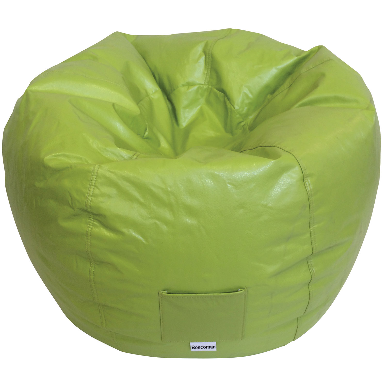 Modern Bean Bag Chair Green Kids & Teens Chairs Best Buy Canada