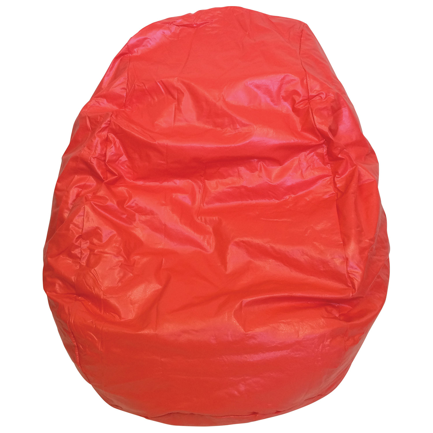 modern vinyl bean bag chair  red ()  kids  teens  - modern vinyl bean bag chair  red ()  kids  teens chairs  bestbuy canada