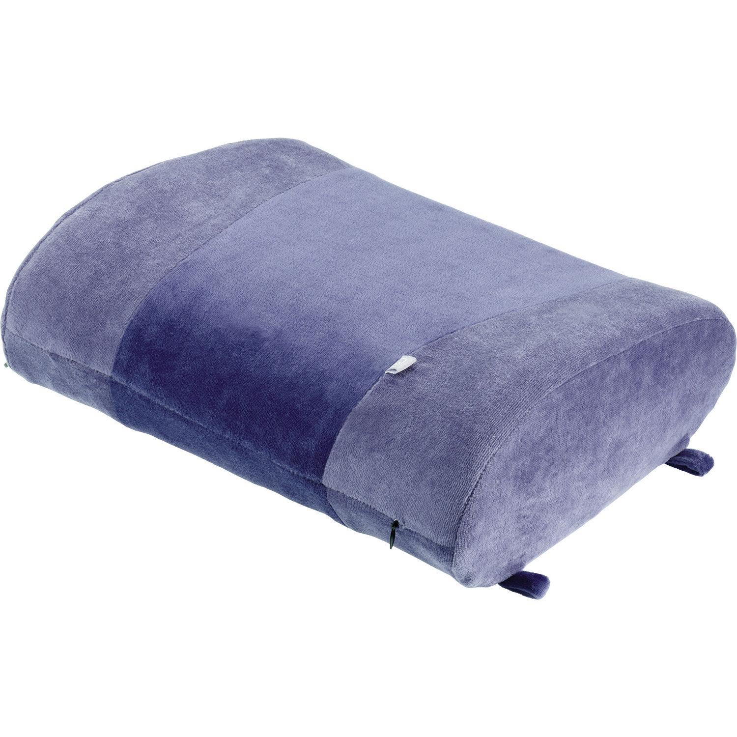 go travel memory foam lumbar back support pillow purple travel pillows best buy canada