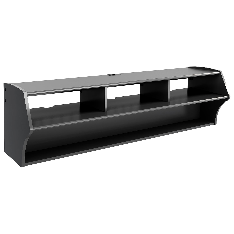 Tv Stand Black Prepac Altus Plus 60 Floating Tv Stand Black Tv Stands Best